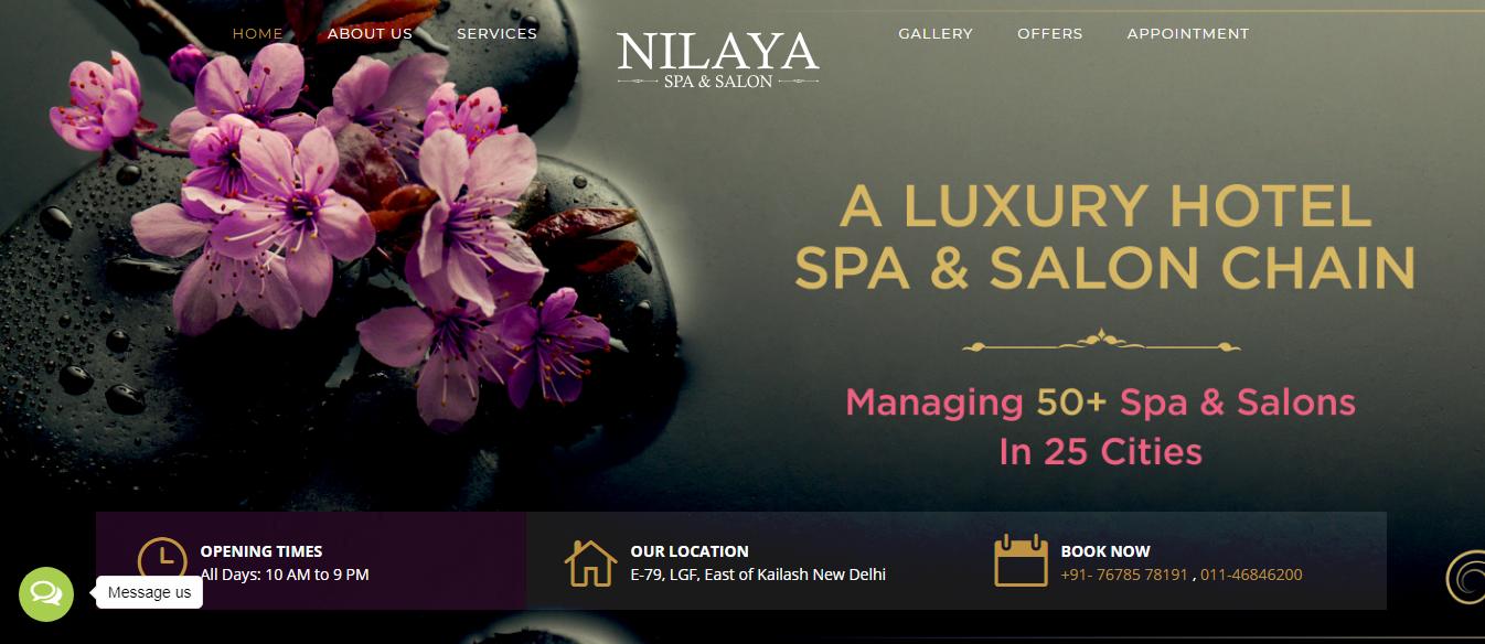 Go to Nilaya Spa!